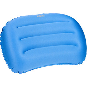 CAMPZ Curved Air Pillow, blue/grey